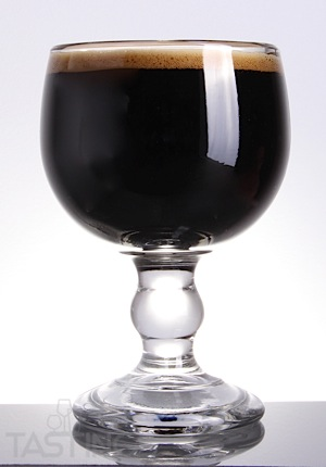 Beer Glass Chalice Dark Brown.jpg