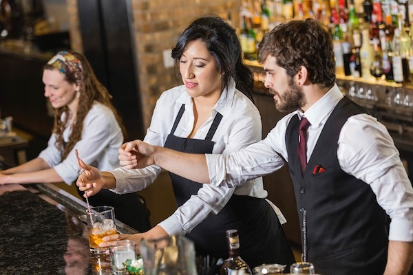 Train bar staff to help sell your spirits