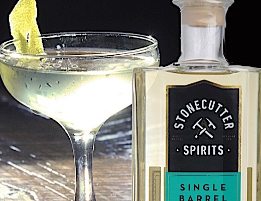 Stonecutter Spirits Single Barrel Gin Martini