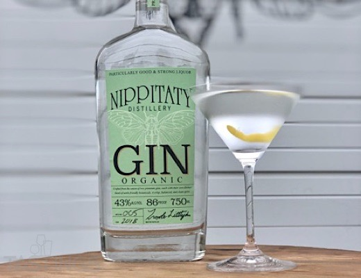 "1st Place, Platinum Medal, Nippitaty Distillery Gin ""Best Gin for a Martini 2019"""