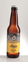 Rooney's Beer Company Rooneys Lager