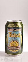 Lancaster Brewing Company Kolsch