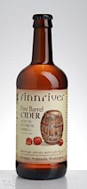 "Finnriver Farm & Cidery ""Fire Barrel"" Cider"