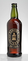"Sonoma Cider ""Dry Zider"" Cider"