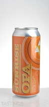 Fort George Brewery and Public House Sunrise Oatmeal Pale Ale