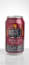 Brew Bus Brewing Rollin Dirty Irish-Style Red ale
