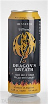 Dragon's Breath Hard Cider & Ginger