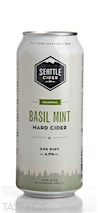 Seattle Cider Co. Basil Mint Hard Cider