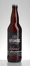 "Infamous Brewing Company ""Infamy"" Strong Ale"