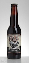 "Rahr & Sons Brewing Co. ""Ugly Pug"" Black Beer"