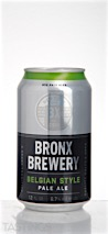 The Bronx Brewery Belgian Style Pale Ale