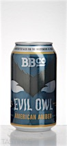 "Branchline Brewing Company ""Evil Owl"" Amber Ale"