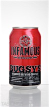 "Infamous Brewing Company ""Busgys Fire Brush"" Amber Ale"