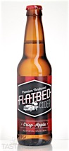 Flatbed Cider Crisp Apple Hard Cider