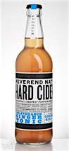 """Reverend Nat's """"Deliverance"""" Ginger Tonic Hard Cider"""