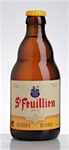 St. Feuillien Brewery Blonde Ale