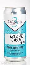3 Daughters  Key Lime Cider