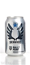 Service Brewing Company Rally Point Pilsner
