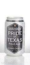 Rahr & Sons Brewing Co. Pride of Texas Pale Ale