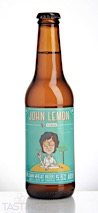 John Lemon Belgian Wheat Ale