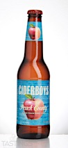 Ciderboys Cider Company Peach County Hard Cider