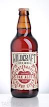 WildCraft Cider Works  Pinot Noir Barrel Aged Cherry Cider