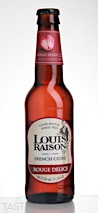 Louis Raison Rouge Delice Hard Cider