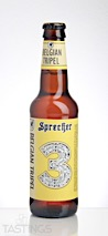 Sprecher Brewing Co. Belgian Tripel Ale