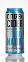 Citizen Cider The Dirty Mayor Ginger Infused Cider