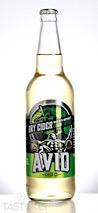 Avid Cider Co.  Dry Organic Apple Cider