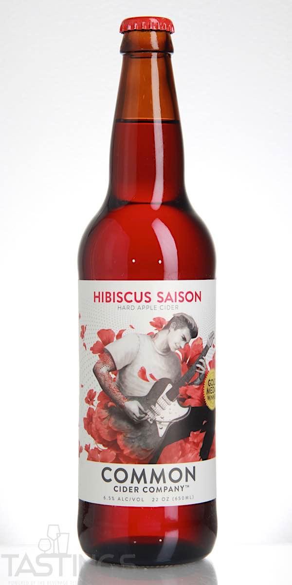 Common Cider Company Hibiscus Saison Hard Cider USA Cider