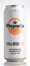 Magnotta Craft Ciders  Peach Flavored Cider