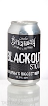 Brickway Brewery Epic Blackout Stout