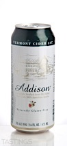 Vermont Cider Co. Addison Cider