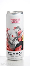 Common Cider Company Hibiscus Saison Hard Cider