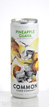Common Cider Company Pineapple Guava Cider