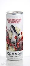 Common Cider Company  Elderflower Cranberry Cider