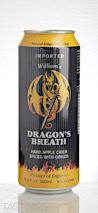 Dragons Breath Spiced Ginger Cider