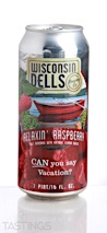 Wisconsin Dells Brewing Co. Relaxin Raspberry Fruit Ale
