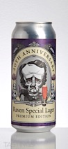 RavenBeer 20th Anniversary Raven Special Lager