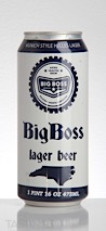 Big Boss Brewing Co. Big Boss Lager