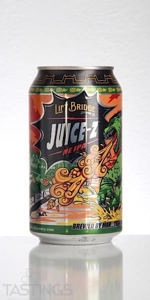 Lift Bridge Beer Company Juice Z NE IPA USA Beer Review