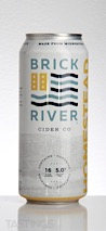 Brick River Cider Co.  Homestead Semi-Sweet Unfiltered Cider