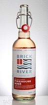 Brick River Cider Co.  Firehouse Rosé Cider