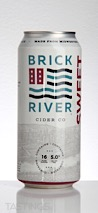 Brick River Cider Co.  Sweet Lous Fruited Cider