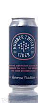 Number 12 Castaway Semi-Dry Pear Cider