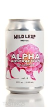 Wild Leap Brew Co. Alpha Abstraction Vol. 6 Double IPA