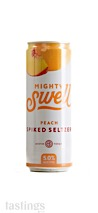 Mighty Swell Peach Spiked Hard Seltzer