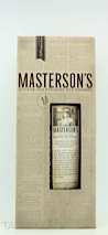 Masterson's 10-Year-Old Straight Rye Whiskey