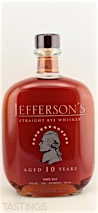 Jefferson's Straight Rye Whiskey